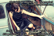 Sell Your Scrap Car with One Simple Call to (877)-SCRAP-64
